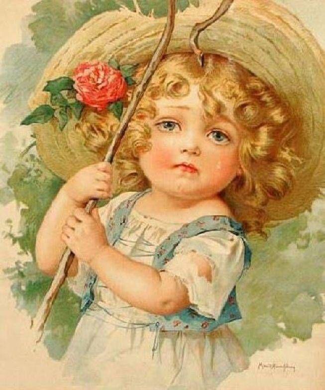 Старинные открытки с детьми