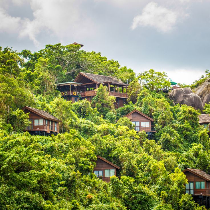Yalong Bay - Sanya, China -- Take a vacation where you can indulge your inner animal lover on an ecotourism retreat. Nestled in over 1,500 hectares of mountain, the Bird's Next Resort is home to 1,500 species of plants and 190 species of animals.