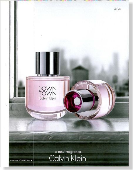 Calvin Klein Down Town. Clipped from Marie Claire using Netpage.