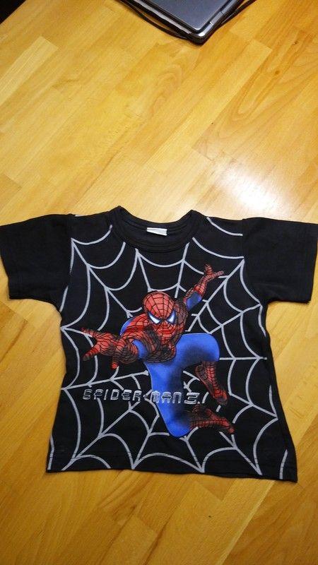 T-Shirt Spiderman 3 Gr. 98/104 gern getragen aber super