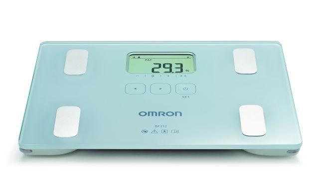OMRON BF212 testösszetétel-elemző mérőkészülék - A készülék, amely már 10 éves kortól használható, alkalmas a testsúly, a testzsír mérésére, továbbá a BMI besorolás kiértékelésére is.