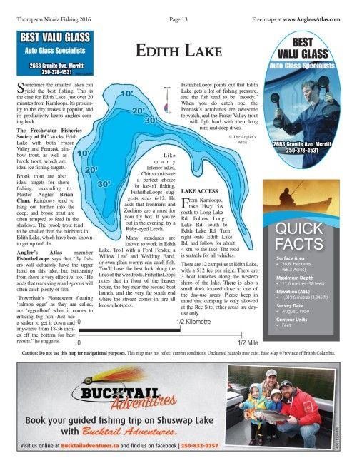 Photo thumbnail: Lake of the Day: Edith Lake