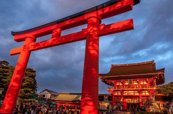 Tempat Wisata Gratis di Kyoto Kuil Fushimi Inari