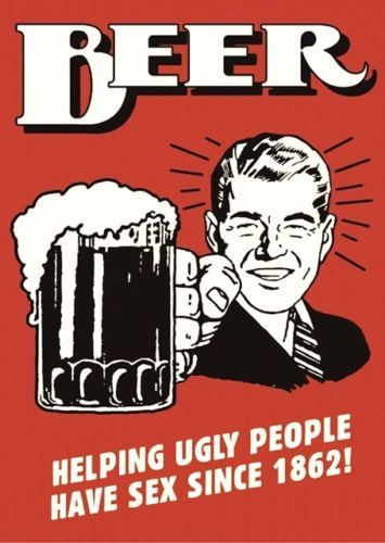 HILARIOUS-BEER-HELPING-UGLY-PEOPLE-POSTER-A4-PRINT-SIGN-WALL-ART-GIFT