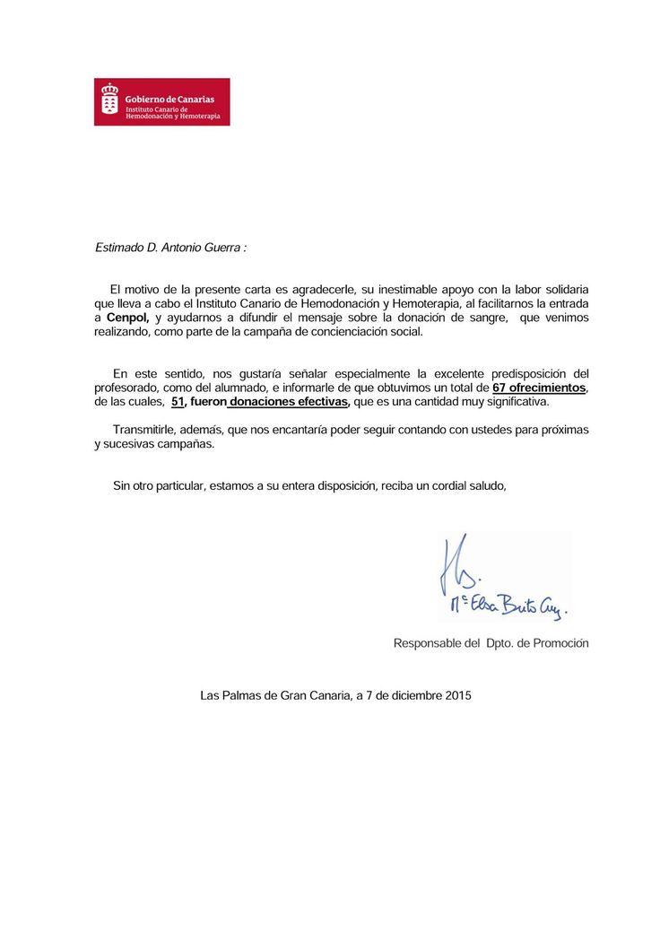 Queremos compartir esta carta de agradecimiento … | Centro de Enseñanzas Policiales CENPOL – Cuerpo Nacional de Policía – Guardia Civil – Policía Local – Vigilantes de Seguridad