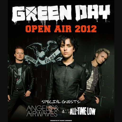 Green Day in Germany! Tickets out now!!!