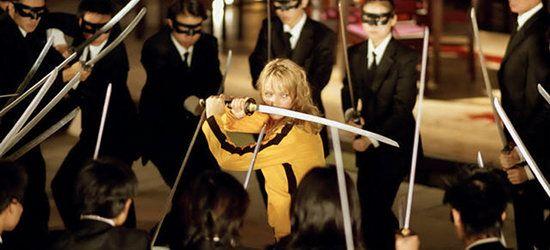 Quentin Tarantino kill bill - plano medio picado