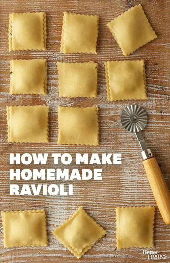 Make your own ravioli