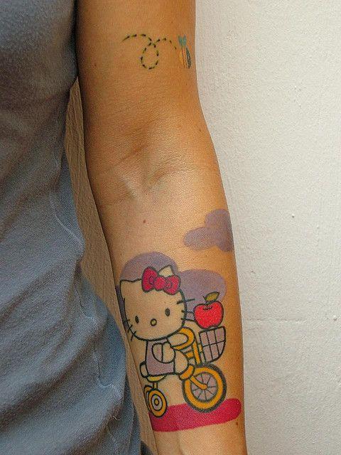 60 tatuagens da Hello Kitty