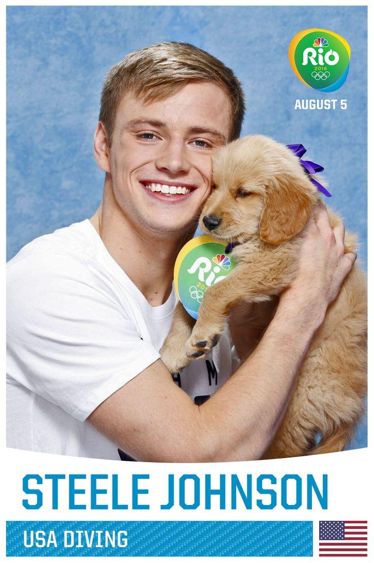 Steele Johnson http://www.cleartheshelters.com #Olympics #adoptDon'tshop