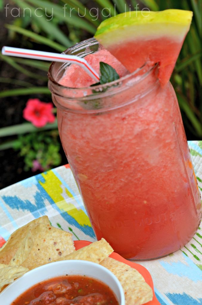 Fresh Watermelon Margaritas Drinks Cocktails, Margaritas Recipe, May 5 ...