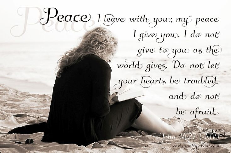 Verse of the Day: My Peace I Give You - John 14:27