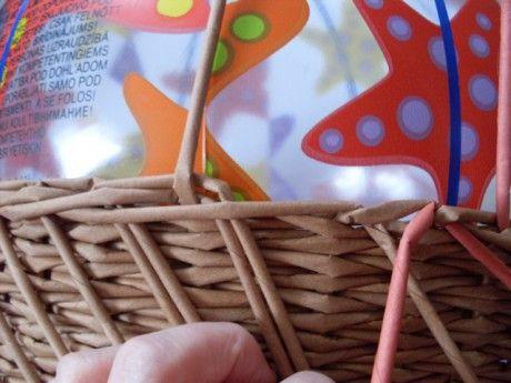 Moje pletení z papíru - Fotoalbum - NÁVOD - NA UZAVÍRKY - NÁVOD - NA TŘÍPÁROVOU UZAVÍRKU
