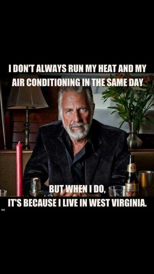 West Virginia Travel Meme