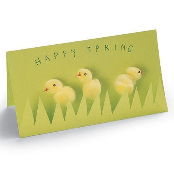 Easter Crafts For Kids  Diy Greeting Card  Handmade Cards    Homemade Easter Cards