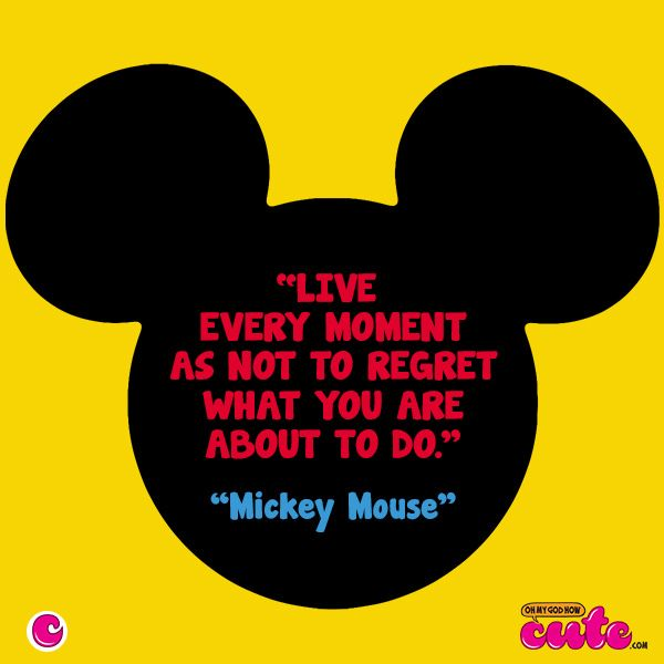 5 Cute Mickey Mouse Quotes | Mice, Blog and Quotes