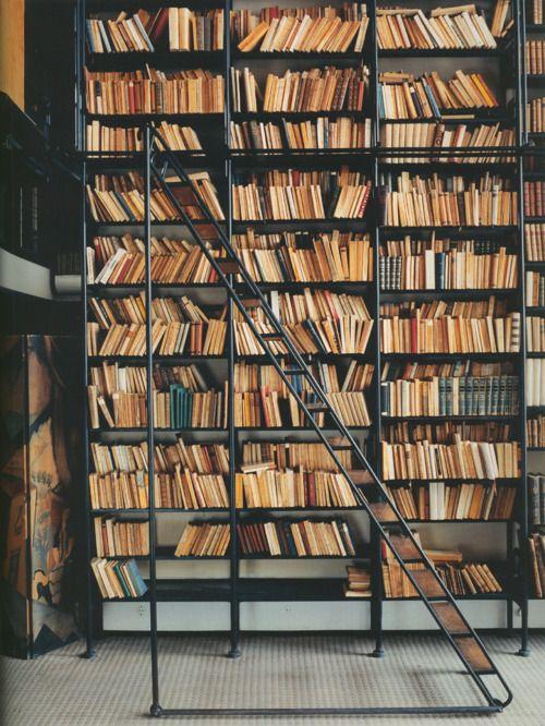 Bookcase in Pierre Chareau's Maison de Verre (1932):