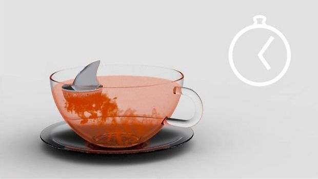 Fun! Sharky Tea Infuser