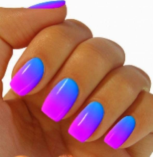 cool Summer cocktail nails designs for teens 2015