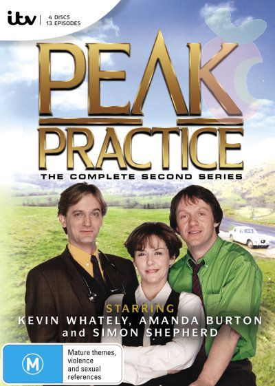 Peak Practice, second series, starring Kevin Whately, Amanda Burton and Simon Shepherd