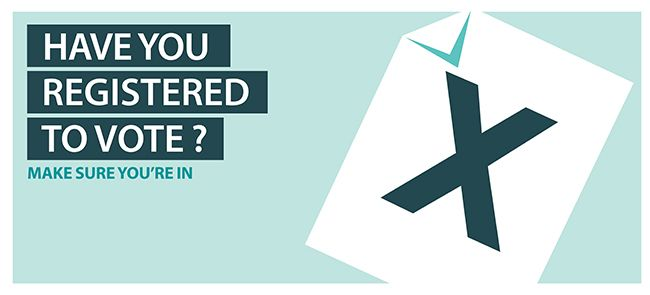 Make yourself count - register to vote before 20 April for the #GE2015