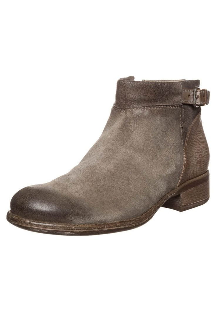 Manas Design Korte laarzen - kaki - Zalando.nl