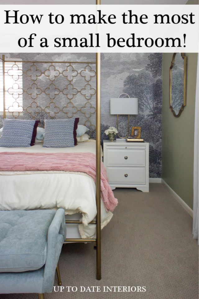 How To Utilize Space In A Small Bedroom In 2020 Small Bedroom