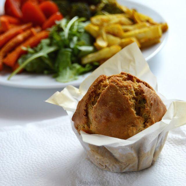 muffiny se sušenými rajčaty