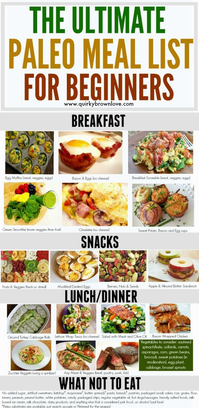 https://paleo-diet-menu.blogspot.com/ The Ultimate Paleo Meal List For Beginners