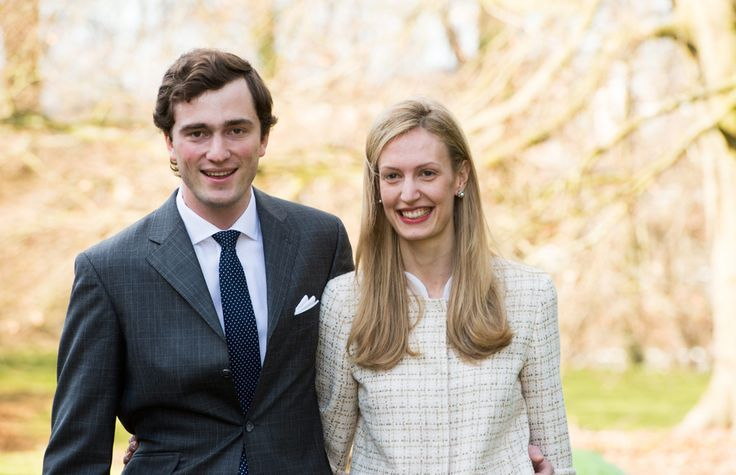 Officicial Engagement Prince Amedeo of Belgium with Elisabetta Maria Rosboch von Wolkenstein.