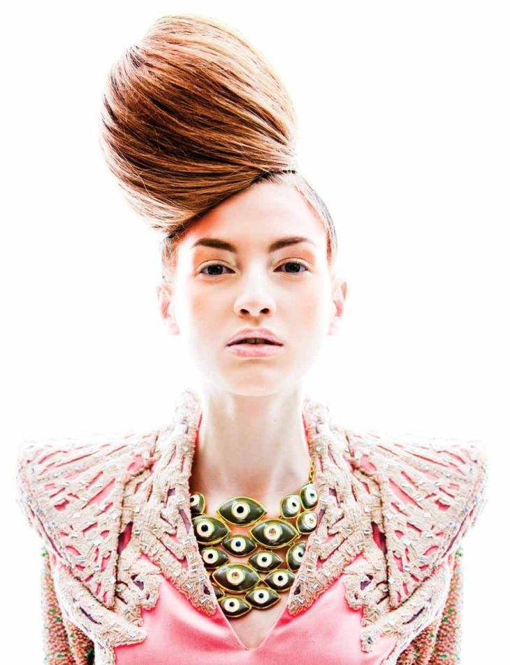 hairstyle WestEast Magazine Summer 2013 Circus by Kah  Hairst  hairstyle magazines 2013 | hairstyles