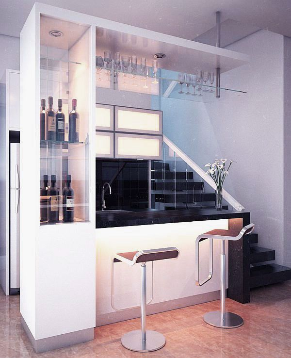 Modern Mini Kitchen Design: Mini Bar Designs Ideas For Your Home