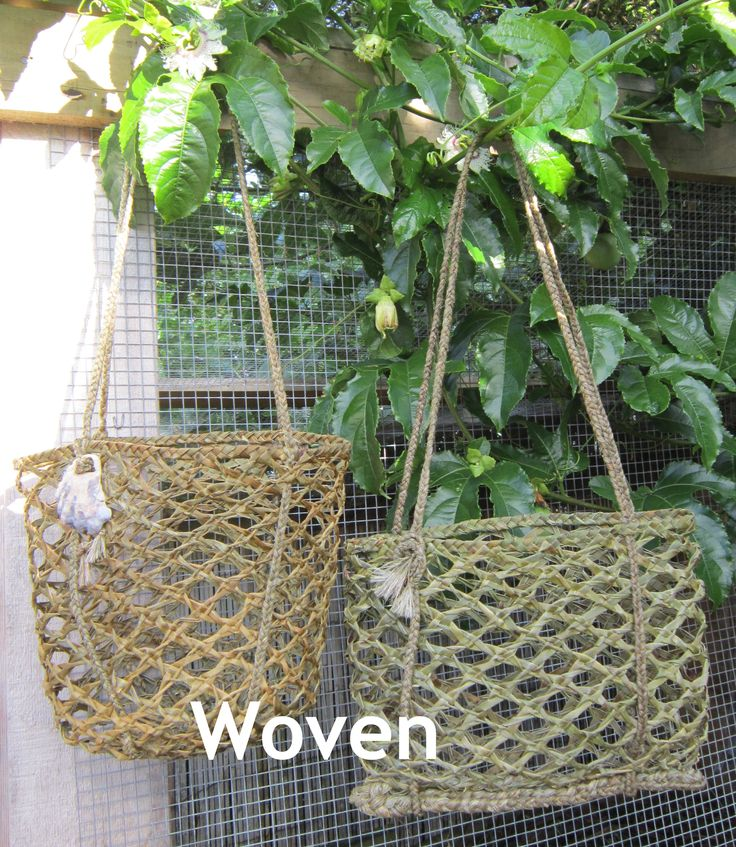 Two Kete Kupenga drying outside on a beautiful warm day in June. Please follow me on my Face Book page Woven.NZ