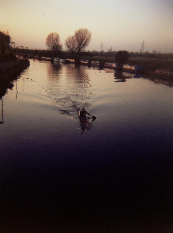 River Lea // hackney // Holga