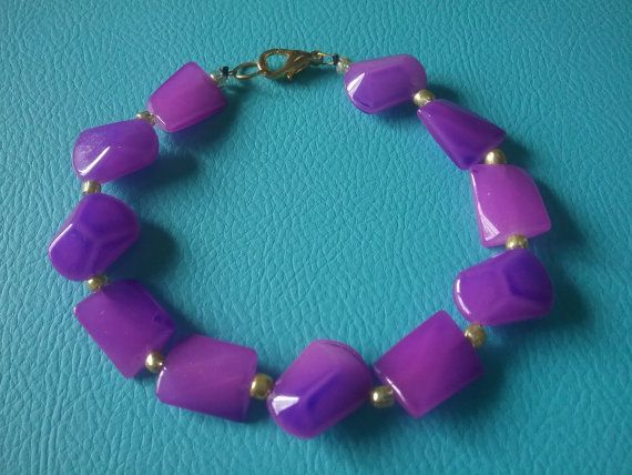 Hey, I found this really awesome Etsy listing at https://www.etsy.com/au/listing/264345305/purple-bracelet