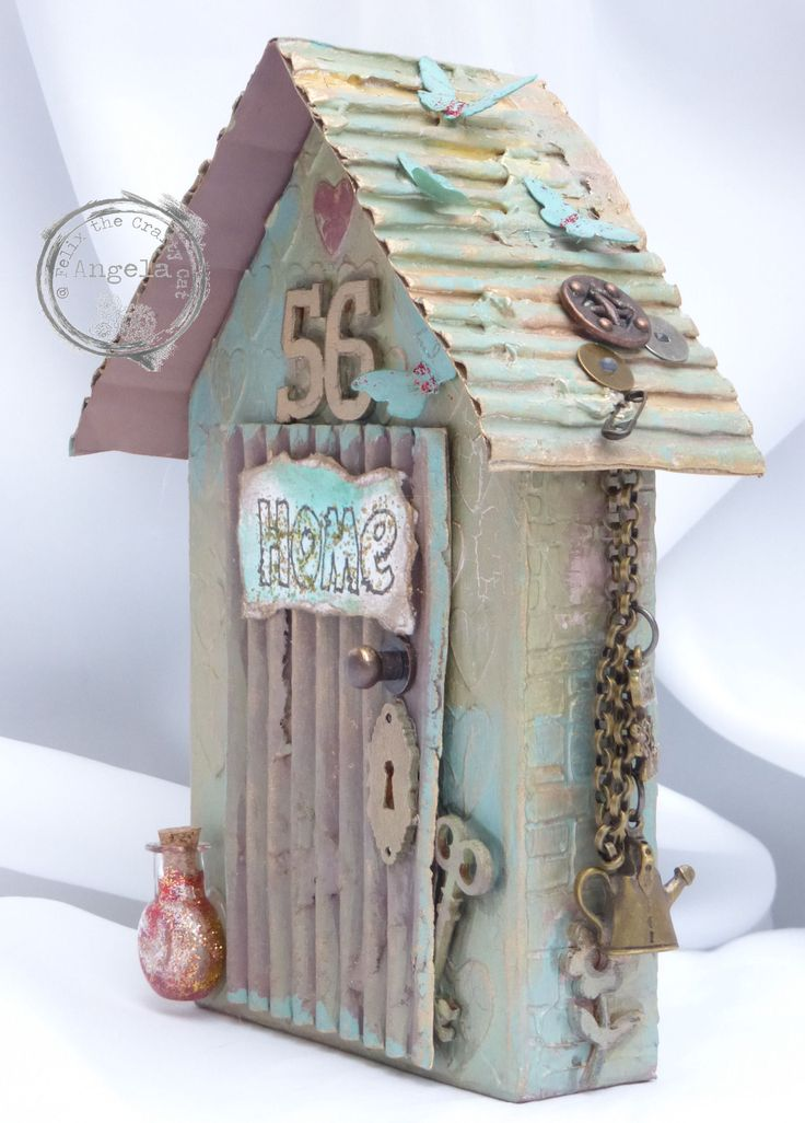 My little house made for the Craft Barn.