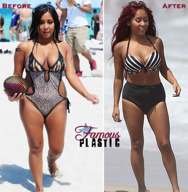 Snooki in a bikini before and after weight loss | -Fitness ...