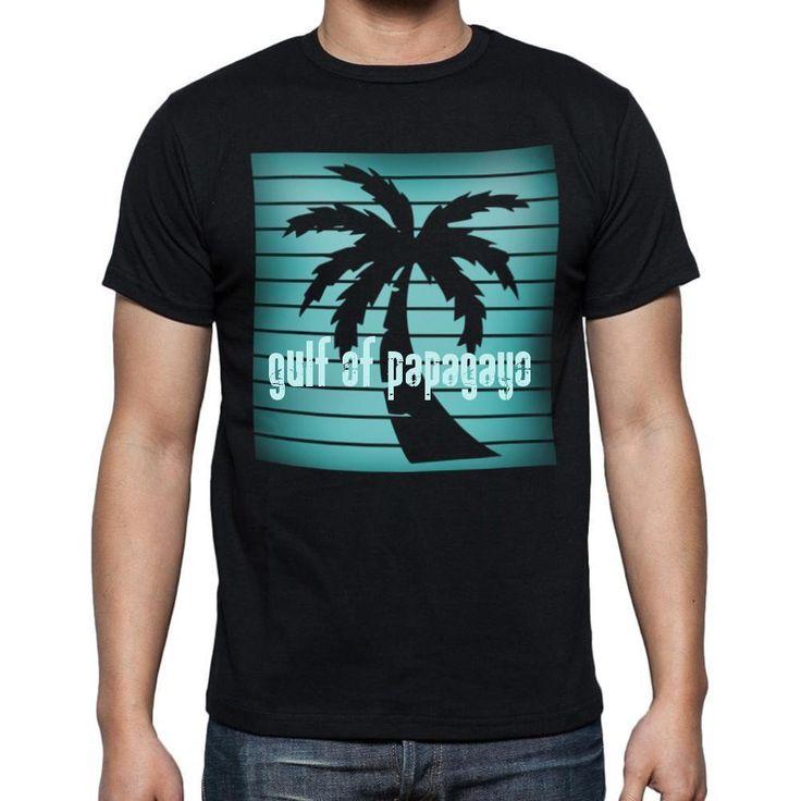 gulf of papagayo, beach holidays in gulf of papagayo, beach t shirts, Men's Short Sleeve Rounded Neck T-shirt