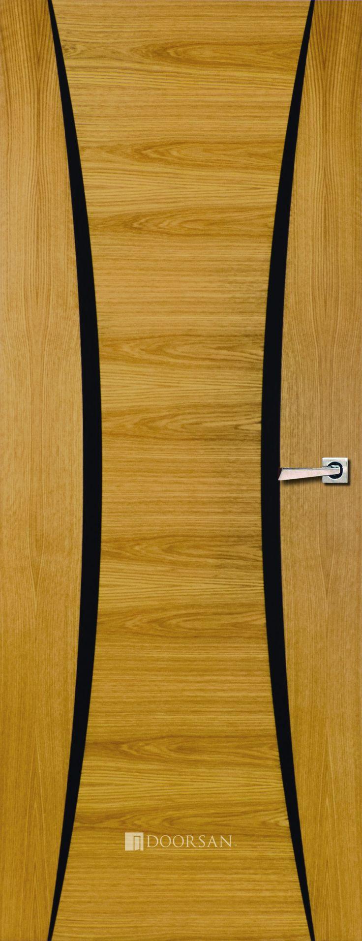 Powell Oak - Flush Range - Contemporary - Internal Doors