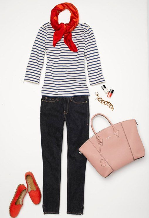 Pair French and American Style In One Chic Look