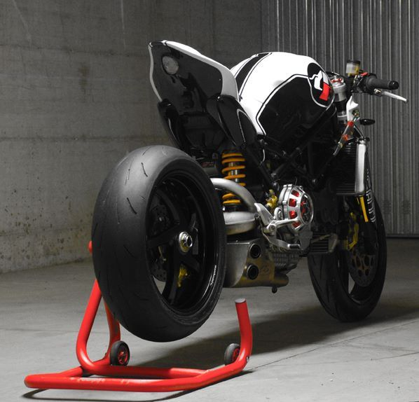 Ducati Monster MS4R by Paolo Tesio ~ Return of the Cafe Racers  #Ducati