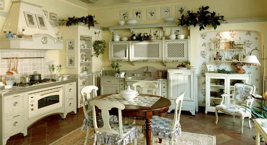 20 Modern Kitchens and French Country Home Decorating Ideas in Provencal style