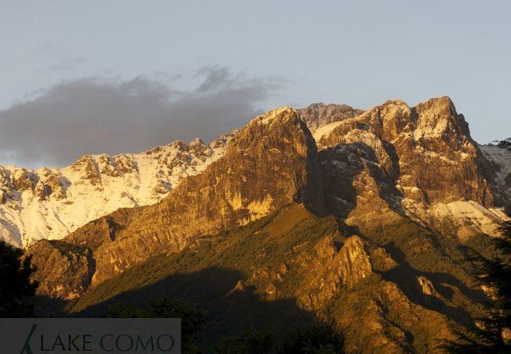 Mandello_prima neve sulla Grigna