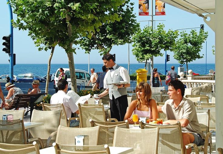 Hotel RH Corona del Mar - Terraza