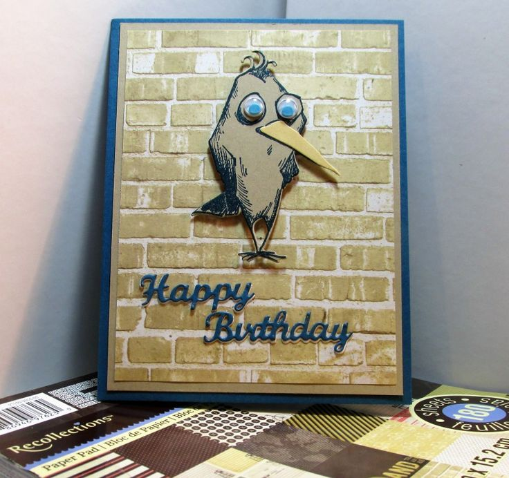 IC604 PatternBirtday Steve sm by smadson - Cards and Paper Crafts at Splitcoaststampers