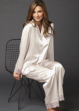 fine silk sleepwear