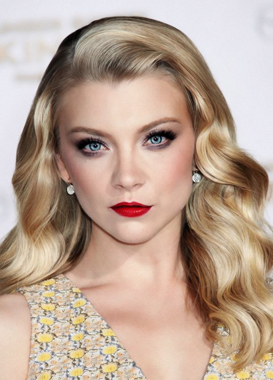 Natalie Dormer >> I realise this has been edited, but what the heck. She is a goddess.