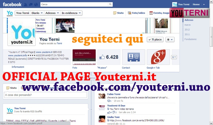 OFFICIAL PAGE www.facebook.com/youterni.uno