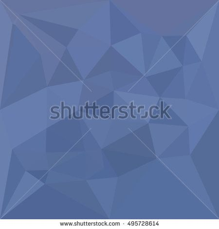 Low polygon style illustration of a cornflower blue abstract geometric background. #abstractbackground #lowpolygon #illlustration