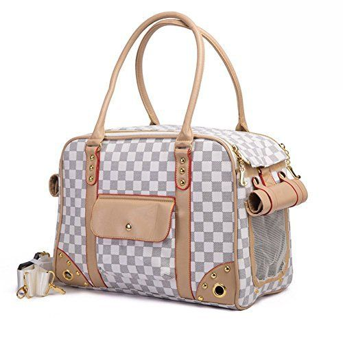 BETOP Pet Carrier Tote Around Town Pet Carrier Portable Dog Handbag Dog Purse for Outdoor Travel Walking Hiking, White, 15.75''*11.81''*7.87'' - http://leather-handbags-shop.com/betop-pet-carrier-tote-around-town-pet-carrier-portable-dog-handbag-dog-purse-for-outdoor-travel-walking-hiking-white-15-7511-817-87/
